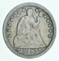 1853 SEATED LIBERTY HALF DIME   CHARLES COIN COLLECTION  450