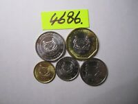5 X  COINS 2013 FROM SINGAPORE   30     GMS      MAR4686