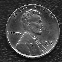 1943-S LINCOLN STEEL WARTIME CENT -