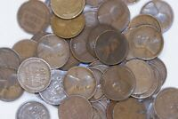 1910 TO 1915 WHEAT CENT  ROLL OF 50 PENNIES  EARLY DATE ROLL