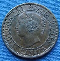 VERY NICE 1859 CANADA LARGE ONE CENT