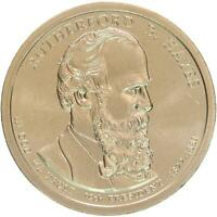 2011 P PRESIDENTIAL DOLLAR RUTHERFORD B HAYES BU CLAD US COIN