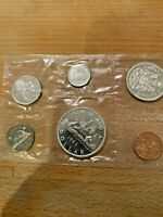1963 CANADIAN DOLLAR PROOF SET FROM ROYAL CANADIAN MINT