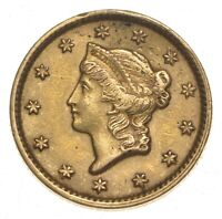 1851 $1.00 LIBERTY HEAD GOLD   WALKER COIN COLLECTION  067