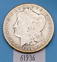 WEST POINT COINS  1896-S MORGAN SILVER DOLLAR