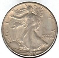 1941-S WALKING LIBERTY HALF DOLLAR GRADES AU BUY IT NOW C1384