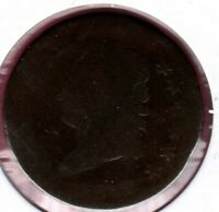 1812 SD CLASSIC HEAD LARGE CENT GRADES ALMOST GOOD   C3478