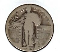 1927-D STANDING LIBERTY QUARTER AVE CIRC  BUY IT NOW C610