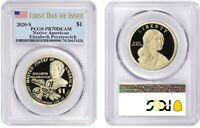 2020 S SACAGAWEA $1 NATIVE AMERICAN PCGS PR70DCAM FIRST DAY