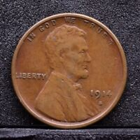1914-S LINCOLN WHEAT CENT - VG 30934