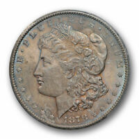 1878 CC $1 MORGAN DOLLAR PCGS MINT STATE 63 UNCIRCULATED CAC APPROVED TONED CERT0947