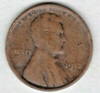 1912 LINCOLN CENT IN GOOD CONDITION   WHEAT SEPARATE FROM RIM .  STK 347