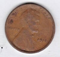 1914 LINCOLN CENT IN  GOOD CONDITION :  PLEASE SEE THE SCAN    STK G5