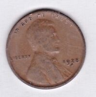 1928 D LINCOLN CENT IN  GOOD  CONDITION :  PLEASE SEE THE SCAN  STK VG - 71
