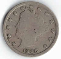 1908 LIBERTY NICKEL IN GOOD  CONDITION  PLEASE SEE THE SCAN      STK G11
