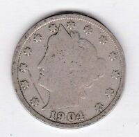 1904 LIBERTY NICKEL IN GOOD  CONDITION  PLEASE SEE THE SCAN     STK G12