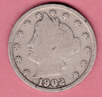 1902 LIBERTY NICKEL IN GOOD  CONDITION  PLEASE SEE THE SCAN    STK V11