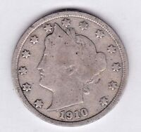 1910 LIBERTY NICKEL IN GOOD  CONDITION  PLEASE SEE THE SCAN    STK V102