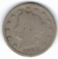 1905 LIBERTY NICKEL IN GOOD CONDITION  PLEASE SEE THE SCAN     STK L905