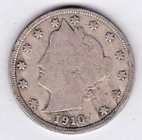 1910 LIBERTY NICKEL IN GOOD   CONDITION  PLEASE SEE THE SCAN    STK V16