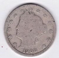 1908 LIBERTY NICKEL IN GOOD  CONDITION  PLEASE SEE THE SCAN    STK V301