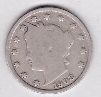 1908 LIBERTY NICKEL IN GOOD  CONDITION  PLEASE SEE THE SCAN    STK 08-2