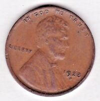 1928 D  LINCOLN CENT IN FINE  CONDITION   PLEASE SEE THE SCAN   STK P106