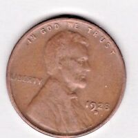 1928 D  LINCOLN CENT IN FINE  CONDITION  PLEASE SEE THE SCAN   STK P101