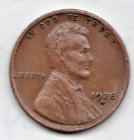 1928 D  LINCOLN CENT IN  FINE  CONDITION  PLEASE SEE THE SCAN   STK 1P