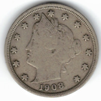 1908 LIBERTY NICKEL IN  GOOD  CONDITION  PLEASE SEE THE SCAN    STK L901