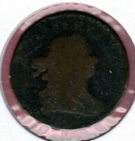1803 DRAPED BUST HALF CENT CIRCULATED AU1240