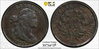 1803 DRAPED BUST LARGE CENT 1C SMALL DATE LG FRAC PCGS EXTRA FINE  40