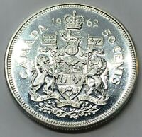 1962 CANADA 50 CENT HALF DOLLAR SILVER PROOF COIN  G234