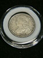 1835 CAPPED BUST DIME GOOD WITH FULL LIBERTY IN AIRTIGHT CAP DP14