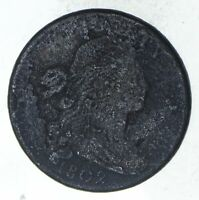 1802 DRAPED BUST LARGE CENT - CIRCULATED 9346