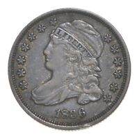 1836 CAPPED BUST DIME 4610