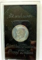 1971 S SILVER EISENHOWER PROOF DOLLAR COIN U.S. MINT UNCIRCULATED IN CASING