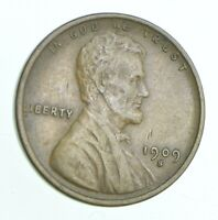 BETTER 1909 S   US LINCOLN WHEAT CENT PENNY COIN COLLECTION
