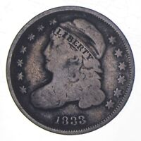 1833 CAPPED BUST DIME 9136
