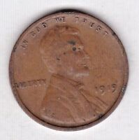 1919  LINCOLN CENT IN FINE  CONDITION  PLEASE SEE THE SCAN             STK 1