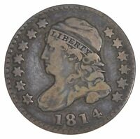1814 CAPPED BUST DIME 5668