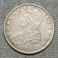 1832 CAPPED BUST HALF DOLLAR -  SMALL LETTERS VARIETY