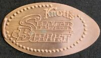 RETIRED SILVER BULLET ROLLER COASTER - KNOTTS BERRY FARM CALIFORNIA PENNY