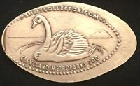 COPPER SWAN - CLEVELAND METROPARKS ZOO OHIO PRESSED PENNY