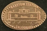 TRAIN CABOOSE - BARSTOW STATION CALIFORNIA PRESSED PENNY