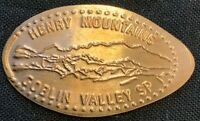 COPPER HENRY MOUNTAINS - GOBLIN VALLEY STATE PARK UTAH PRESSED PENNY