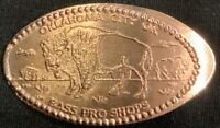 BISON - BASS PRO SHOP OKLAHOMA PRESSED PENNY