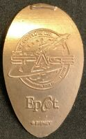 COPPER EPCOT MISSION SPACE - DISNEY WORLF FLORIDA PRESSED PENNY