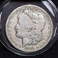1881-CC MORGAN DOLLAR - GOOD 31396