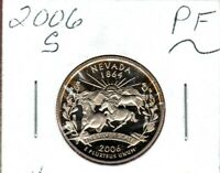 2006 S CLAD NEVADA STATE QUARTER GEM DEEP CAMEO.MIGHT SELL O
